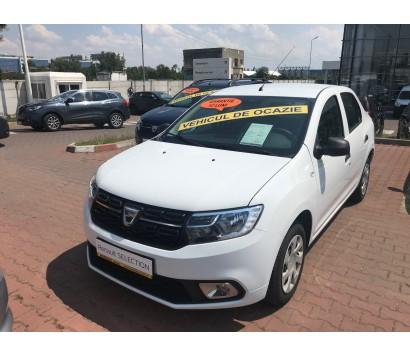 Dacia Logan alba 2012 1.5 diesel exterior fata