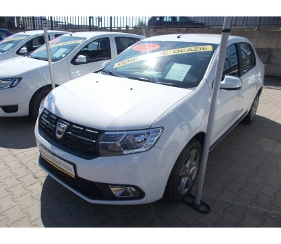 Dacia Logan gri 2014 1.5 diesel exterior fata