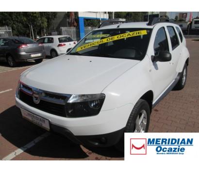 Dacia Duster alba 2013 1.5 diesel exterior fata