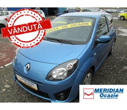 Renault Twingo 2011 albastru 1.2 benzina exterior fata