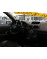 Renault Clio 3 albastru 2008 1.6 benzina interior fata 2