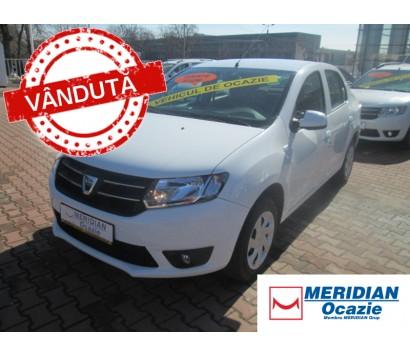 Dacia Logan alba 2013 1.2 benzina exterior fata