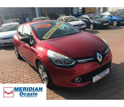 Renault Clio 4 rosu 2012 0.9 benzina exterior fata