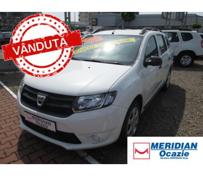 Dacia MCV alba 2015 0.9 benzina exterior fata