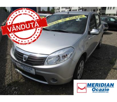 Dacia Sandero gri 2012 1.5 diesel exterior fata