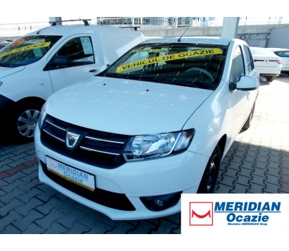 Dacia Logan alba 2014 1.5 diesel exterior fata