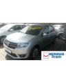 Dacia Logan gri 2015 1.5 diesel exterior fata