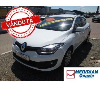 Renault Megane 3 alb 2015 1.5 diesel exterior fata