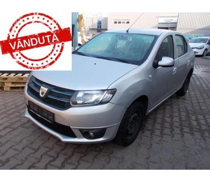 Dacia Logan alb 2014 1.5 diesel exterior fata