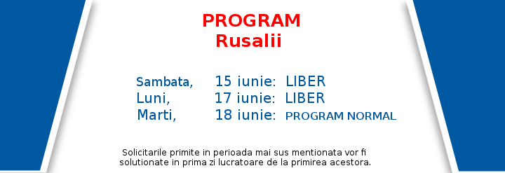 Program rusalii